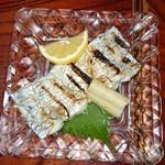 なか川 - 太刀魚塩焼き
