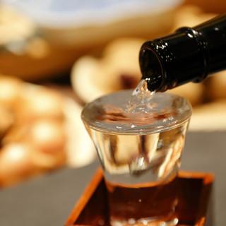 北海道産日本酒が味わえる