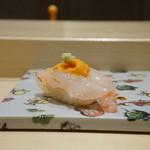 寿司割烹 魚紋 - 車海老