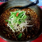 90286475 - 黒胡麻担担麺 麺大盛り