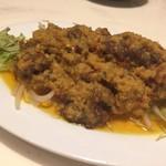 マーライオン - 牛肉のサテー