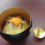 プレゼンテ スギ - 休日ランチ トリュフ・雲丹・鯛・古代米の卵かけご飯