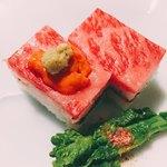 90290751 - お肉+ 雲丹 ❤️ˉ̞̭ ( ›◡ु‹ ) ˄̻̊