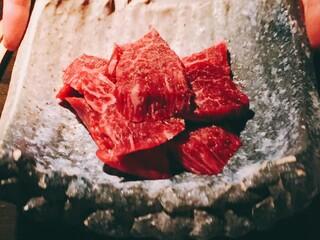 肉匠なか田 本店 - お肉の厚みが 半端ない❣️