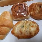 二本松ベーカリー - 料理写真:今回購入したパン♪