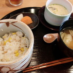 茶々 - 味彩膳 茶碗蒸し 食事