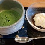 茶々 - 味彩膳 抹茶 デザート