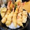 宝 - 料理写真:海老天丼