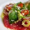 ビストロ13区 - 料理写真:「生」本マグロのカルパッチョ