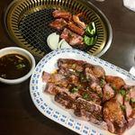 焼肉のまるちゃん - ハラミ&タン
