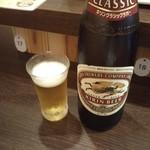 立呑 稼鶏酒場 - 大瓶ビール