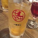 裏天王寺 肉寿司 - 塩生姜サワー