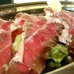 90300979 - 自家燻製 牛肉のカルパッチョ