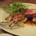 コリータ - 仔羊背肉のシェリービネガーソース