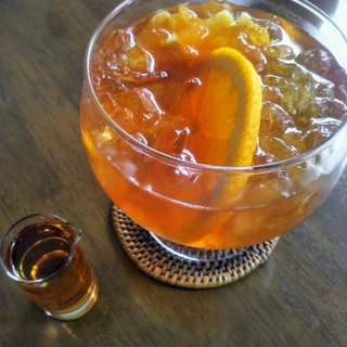 ディンブラ紅茶専門店 - ドリンク写真:オレンジアイスティー♪
