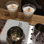 LIGHT UP COFFEE KYOTO - アイスジンジャーカプチーノ500円