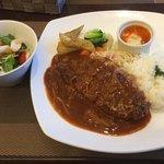 花月堂  - 料理写真:岩手県産豚ロース/コルドンブルー/特製デミグラスソース