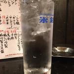 四文屋 - ハイサワー350円(2018.07)