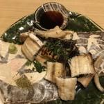 旬菜 おぐら家 - 鳴門青鰻の白焼