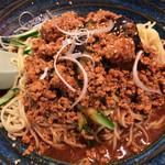 ひちょう - ひちょう(冷し麻婆茄子麺)