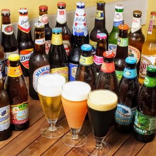 クラフトビール50種類以上!