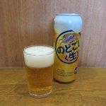 静岡屋食堂 - 缶ビール(※新ジャンル)2018.07.29