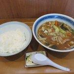 静岡屋食堂 - とん汁定食2018.07.29