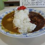 スパイス - 料理写真:ダブル(カレーとハヤシ)