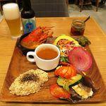 チャヤ ナチュラル&ワイルドテーブル - オマール海老のトムヤムクンプレート