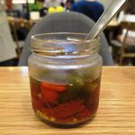 チャヤ ナチュラル&ワイルドテーブル - 島とうがらしの魚醤漬け
