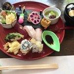 川久 - 料理写真:★★★☆ 花結膳 お吸い物付き