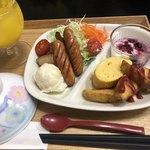 御宿 浜辺屋 - 子供の朝食