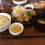 ガスト - 若鶏の竜田揚げランチ  おろしポン酢