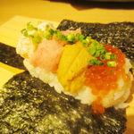 板前寿司 江戸 - レインボー手巻き