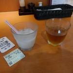 方舟 - ドリンク写真:映画半券サービスで甘酒