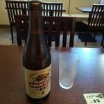 づけや - ビール550円(税込)
