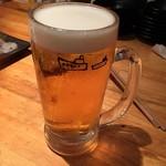 地魚屋台 とっつぁん - 生ビール