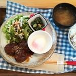 Yummy Mammy - 照り照り れんこんつくね定食(500円)