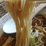 90315732 - 菅野製麺所のストレート細麺