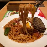 トレンタ  - 料理写真:ナポリタンハンバーグ