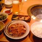 9032883 - 壺漬けカルビランチ+生ビール(小)