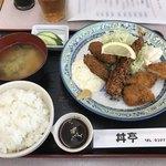 丼亭 - ミックスフライ定食