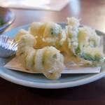 なべいち - ゴーヤーの天ぷら