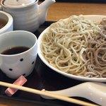 蕎麦 二天 - ざる2色 かしわ ¥1,000