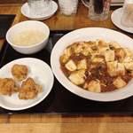 萬力屋 - 料理写真:麻婆飯セット 950円