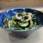 家庭料理 小川 - はもの皮酢物