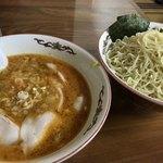 うれっ子 - 料理写真:タンタンつけ麺(¥800)+大盛(¥100)