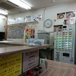 ラーメン武蔵家 - 平成30年7月29日(日)川越祭り開催中の店内はガラガラ