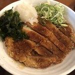 うどん大文字 - 料理写真:カツおろしぶっかけ大盛830円