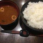 神戸牛 ステーキ ヘンリー亭 - 赤出汁 ご飯L 100円追加料金必要 税込表示はnice